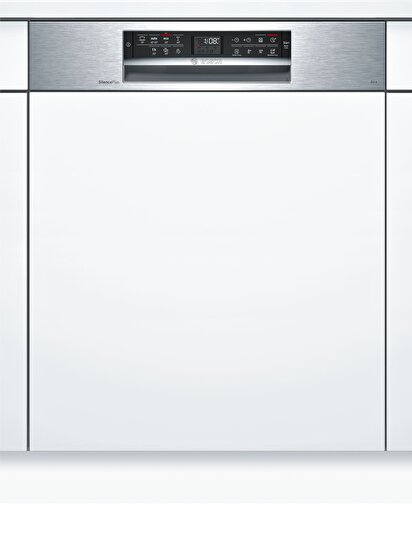 Picture of  Bosch SMI67MS00T Serie|6 Yarı-Ankastre Bulaşık Makinesi 7 Program Inox