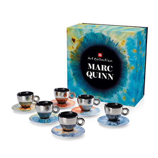 Picture of  illy Marc Quınn Art Collectıon Cappuccıno 6 lı Fincan Takımı