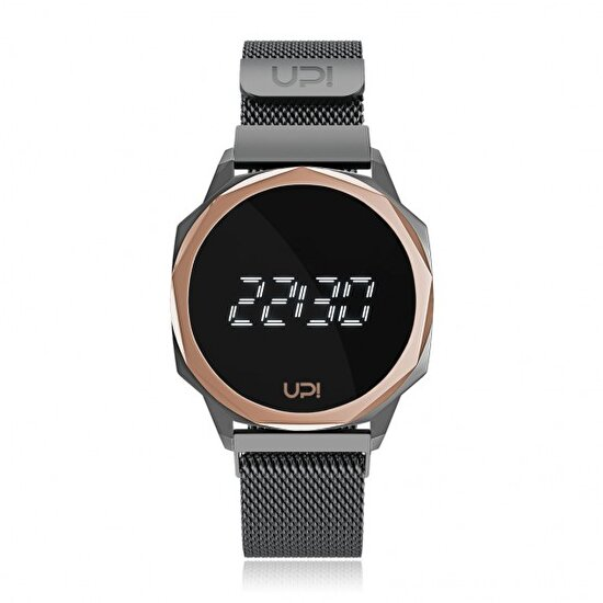 Picture of  Upwatch Icon Gun Metal Loop Band Unisex Kol Saati
