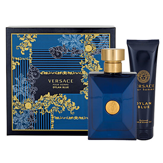 Picture of Versace Dylan Blue Pour Homme EDT 100 ml Erkek Parfüm Set
