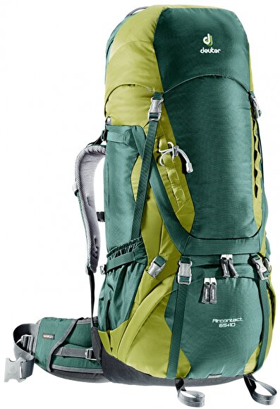 Picture of Deuter Aircontact 65+10 forest-moss Sırt Çantası