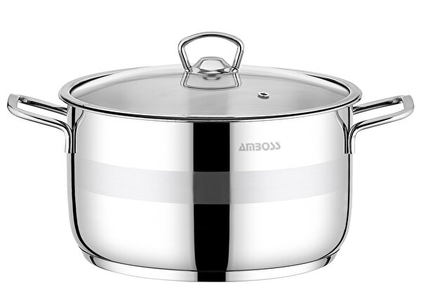 Picture of  Amboss Saphire 24x14 cm Deep Cooker Glass Lid 6,3 Lt