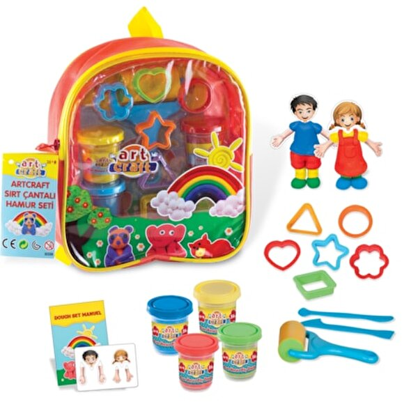 Picture of   Art Craft Backpack Dough Set