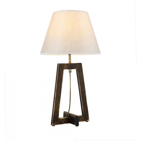 Picture of  Avonni Hml-9007-1E Antique Plated Table Lamp