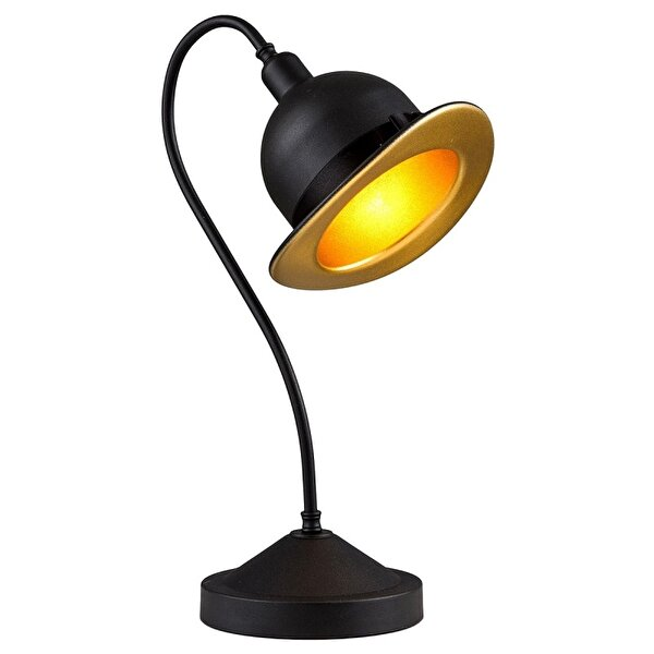 Picture of  Avonni ML-4093-COWBOY-SY Black Painted Table Lamp