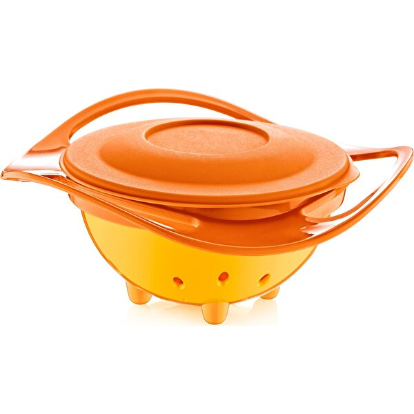 Picture of  Babyjem Spillless Plate Orange
