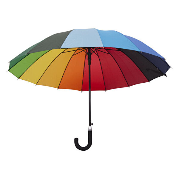 Picture of Biggbrella 04125-U45 The Long Rainbow Umbrella