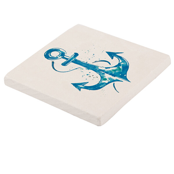 Picture of BiggDesign AnemoSS Anchor Natural Stone Coaster