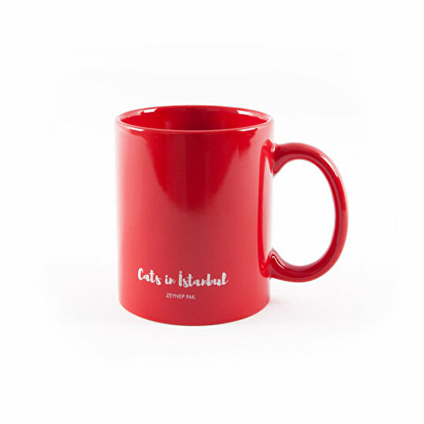 Picture of   Biggdesign Cats in Istanbul Red Mug