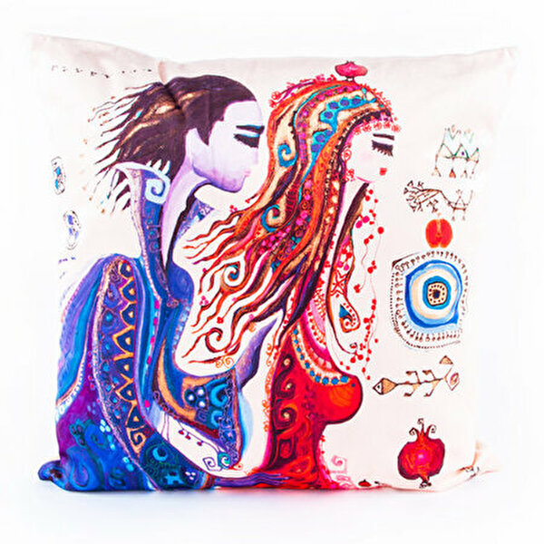 "Picture of BiggDesign ""Love"" patterned Pillow"