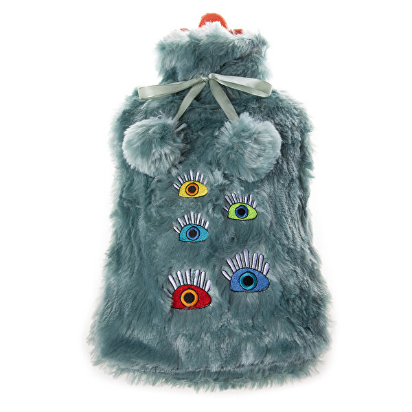 Picture of Biggdesign My Eyes On You Turquoise Hot Water Bottle