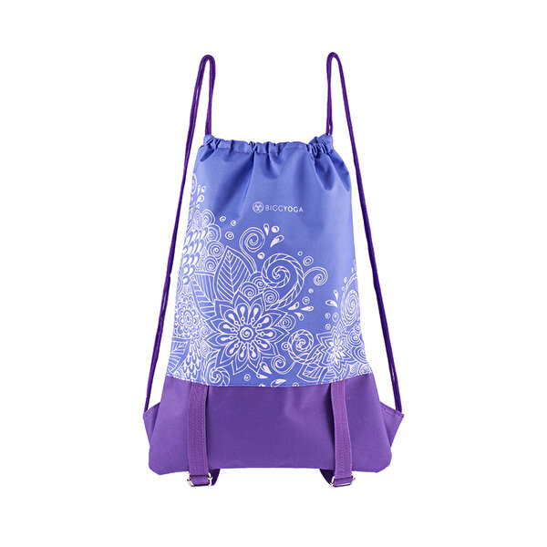 Picture of BiggYoga Karma Drawstring Backpack - Purple