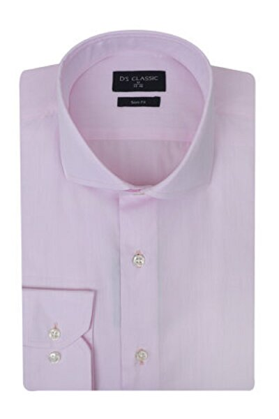 Picture of DS Damat Slim Fit Pink Men's Shirt Medium Size