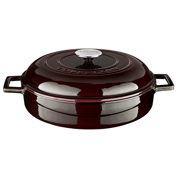 Picture of LAVA Enameled Round  Cast Iron Dutch Oven with Lid