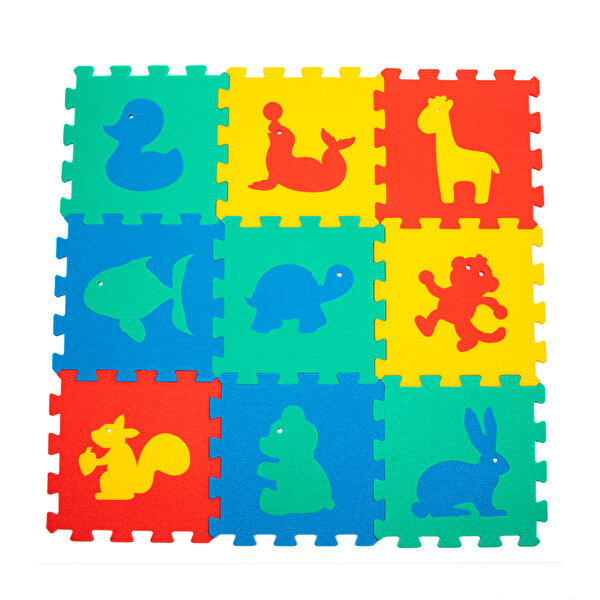 Picture of Matrax Polimat Puzzle | 33x33cm.X 9 Mm. | animals