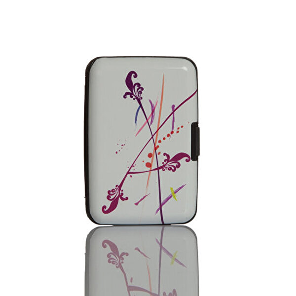 Picture of Nektar Bhac24 Business Card holder Patterned Purple