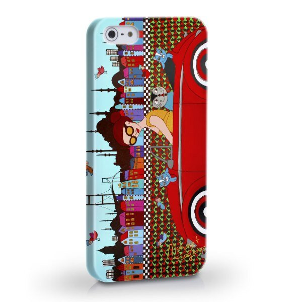 Biggdesign Arabalı Kız iPhone 5/5S Kapak
