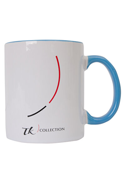 TK Collection Seramik Kupa New Design-Mavi