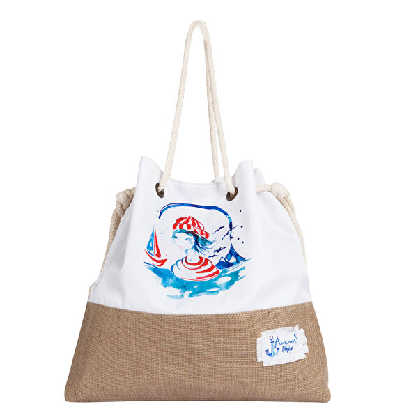Picture of Anemoss Sailor Girl Beach Bag
