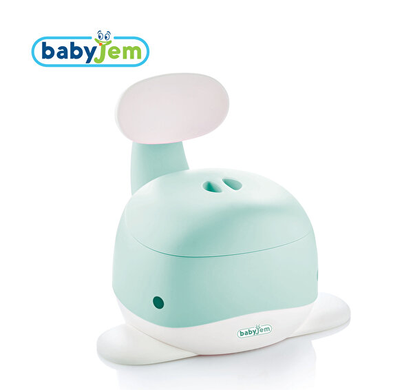 Picture of Babyjem WHALE POTTY GREEN