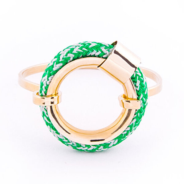 Picture of BiggDesign AnemosS Marine Detailed Rope Bracelet - Green