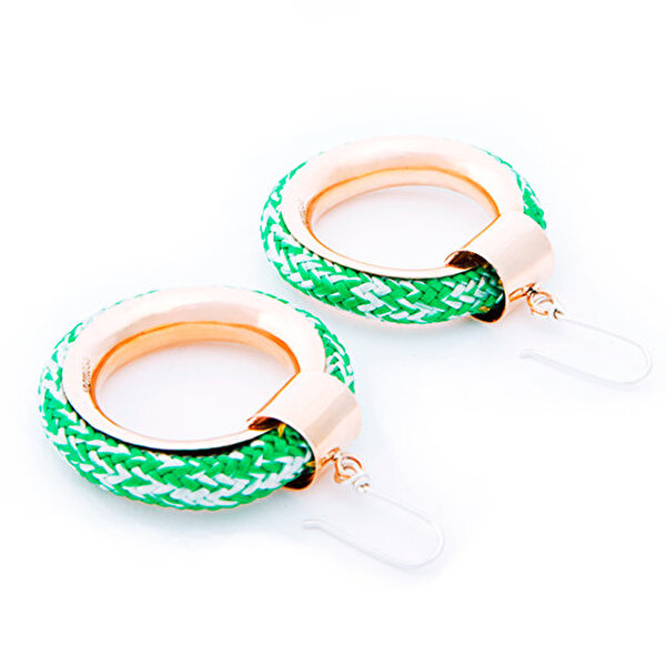 Picture of BiggDesign AnemosS Marine Designed Earings - Green