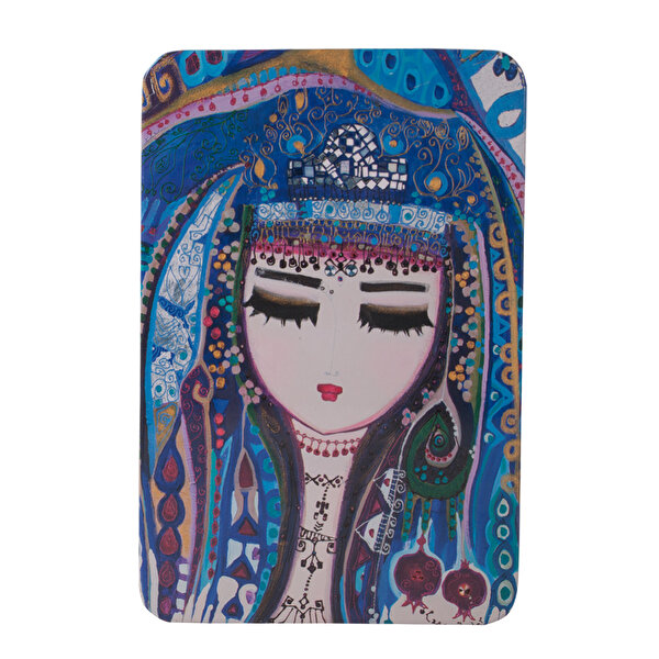 Picture of BiggDesign Blue Water Metal Cover Notebook