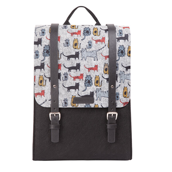 Picture of Biggdesign Cats Felt Backpack