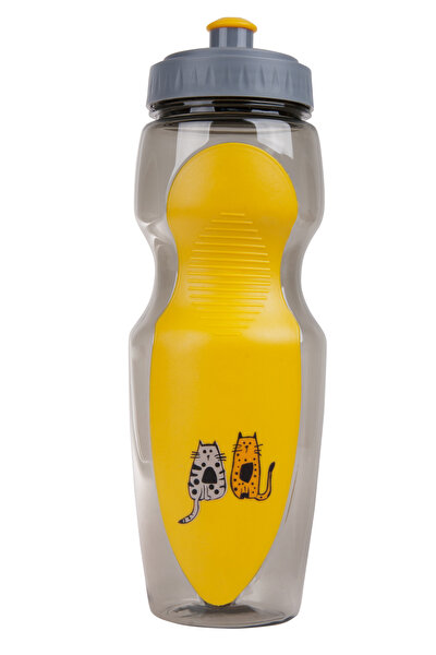 Picture of BiggDesign Cats in Istanbul Yellow Water Bottle