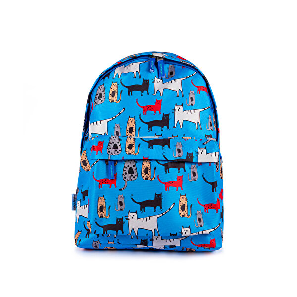 Picture of Biggdesign Cats in Istanbul Blue Backpack