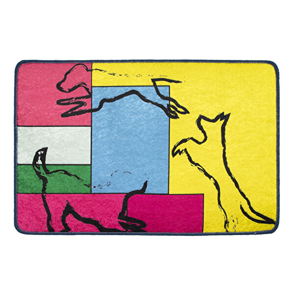 Picture of Biggdesign Dogs Platform Door Mat