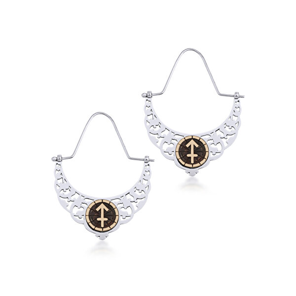 Picture of BiggDesign Horoscope Earrings, Sagittarius