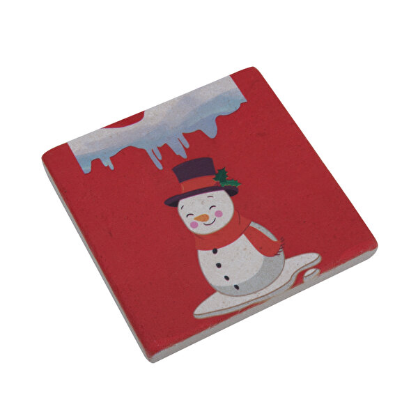 Picture of  Biggdesign Snowman Stone Coaster
