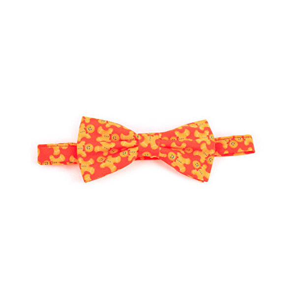 Picture of BiggDesign Gingerbread Patterned Bow Tie