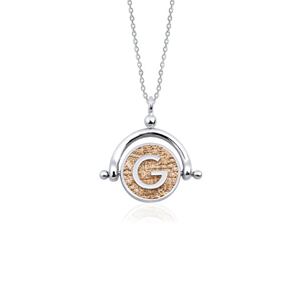 "Picture of  Biggdesign Letter ""G"" Silver Necklace"