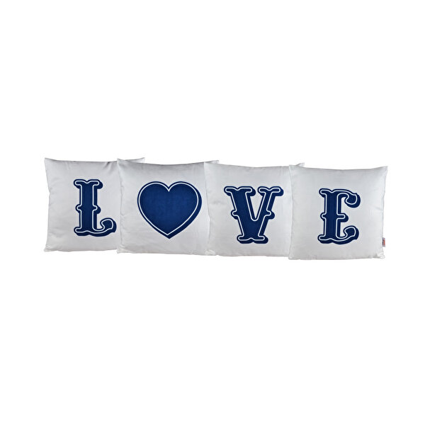 Picture of BiggDesign Love 4 Piece Pillow Case
