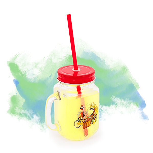 Picture of BiggDesign Nature Lemonade Glass with Handle