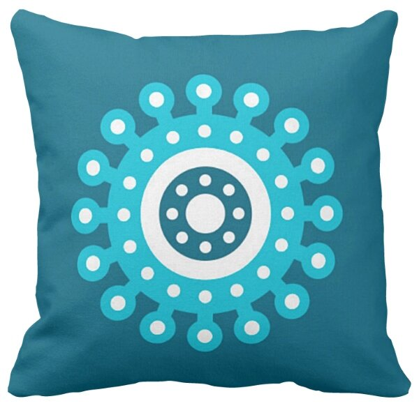 Изображение BiggDesign Evil Eye Pillow Case