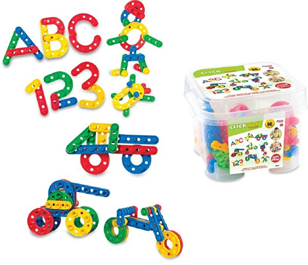Picture of Dede Click Clack 96 Pieces Puzzle Small Box