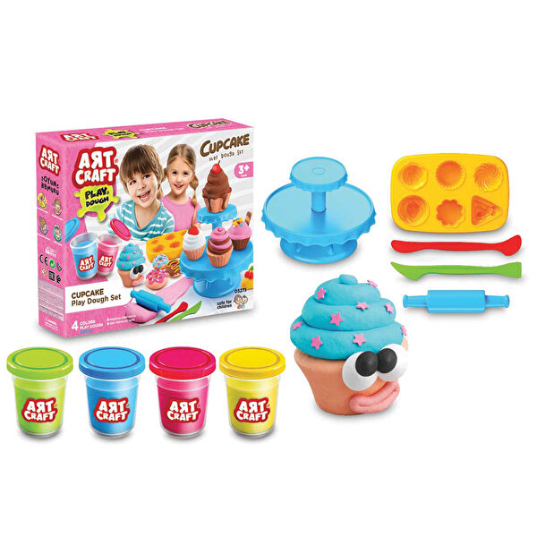 Picture of Dede Cupcake Dough Set for Kids 224 g