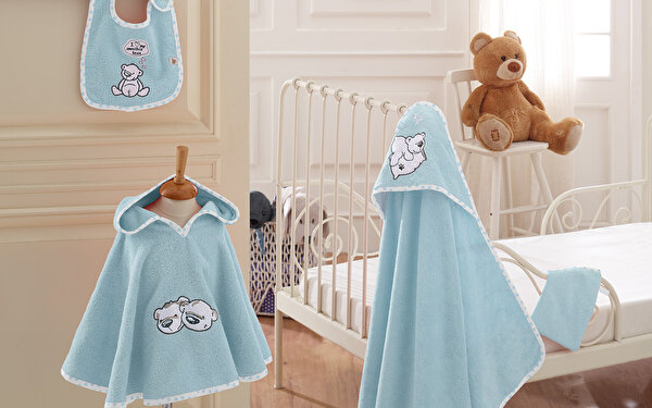 Picture of  Ecocotton Twin Bears Panço Seti