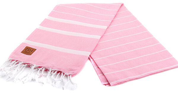 Picture of Gold Case Basic Group 100% Cotton Multi-Purpose Peshtemal Towel - Loincloth - Lara Pink