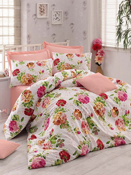 Picture of Gold Case Ranforce 100% Cotton Twin Size Duvet Set - Emily Salmon