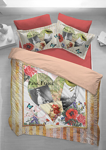 Picture of Gold Case Touch Series Single Size Duvet Set - Poppy