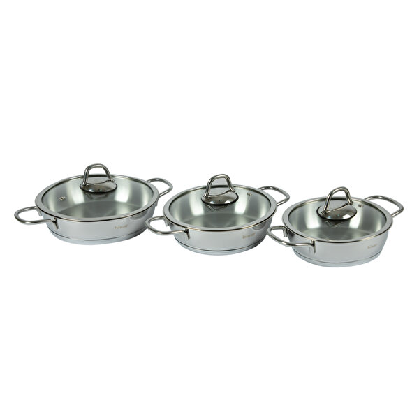 Picture of Hisar 6 Piece Teos Egg Pans Cookware Set