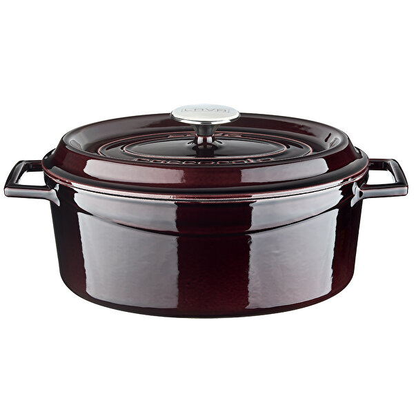 Picture of LAVA Oval Cast Iron Dutch Oven with Trendy Lid