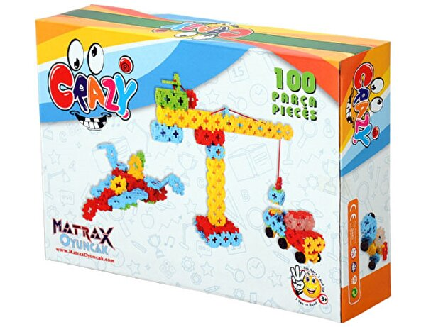 Picture of Matrax Crazy Creative Blocks 100 Pieces