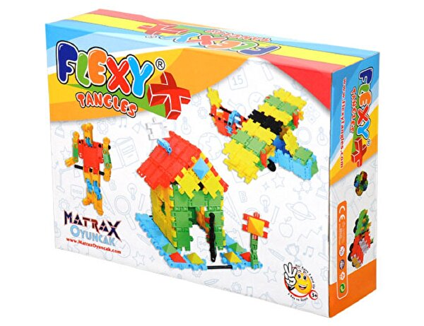 Picture of Matrax Flexy Tangles Creative Blocks 129 Pieces