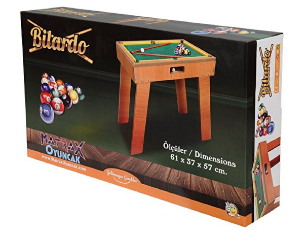 Picture of Matrax Wooden Billiard Game