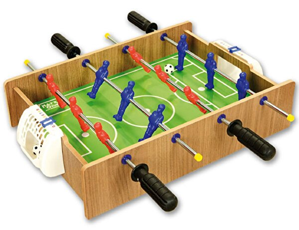 Picture of Matrax Wooden Hockey and Football Game, 32,5 x 45 cm, 2 Player Game, Football and Hockey,Healty Raw Material